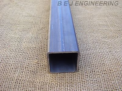 Mild Steel Box 50mm x 50mm x 3mm - 2000mm lg - Square Tube
