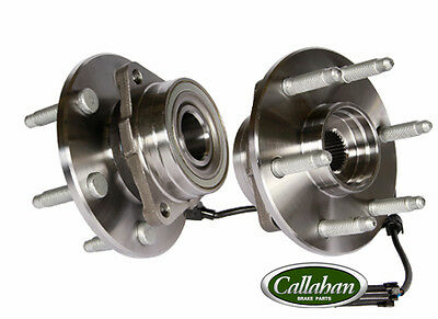 [FRONT] 2 NEW LEFT AND RIGHT GMC, CHEVY WHEEL HUB BEARING ASSEMBLY PAIR