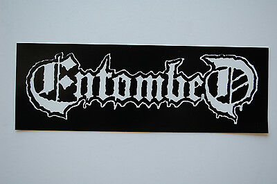 Entombed Sticker Decal (460) Rock  Metal  Mayhem Carcass Slayer Car
