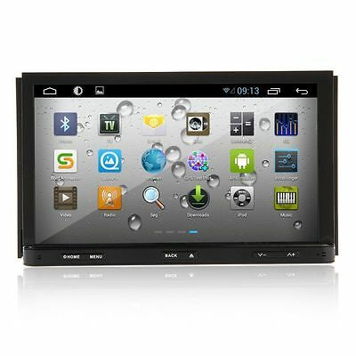 "HD 7"" Android 4.1 GPS Double 2Din Car DVD Stereo Player 3G Wi-Fi iPod RDS BT TV0"