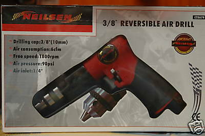 "3/8"" Reversible Air Drill Ct0679"