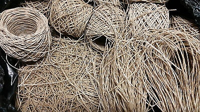 Beeswax Hemp Twine Candle Wick Cord Jewelry Making Scrapbooking 1 + 2 mm Unwaxed