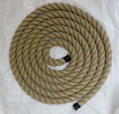 Rope - synthetic hemp / poly hemp for decking, garden and boating 24 mm diameter