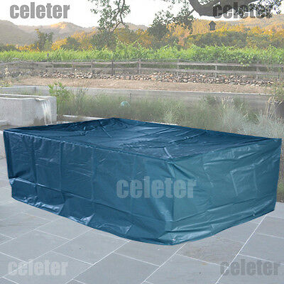 Waterproof Outdoor Furniture Cover 6 Seater Patio Table Charis Setting ZS08N