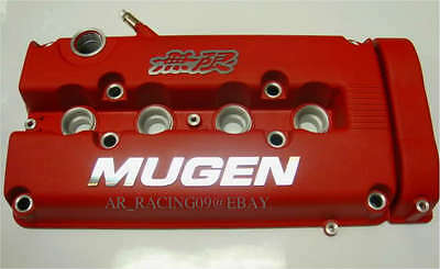 MUGEN STYLE VALVE COVER RED 99 00 CIVIC SI INTEGRA 94 95 96 97 98 99 00 01 GSR