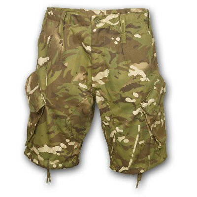 British Army Style Pcs Acu Mtp Multicam Shorts Combat Issue Camo Airsoft