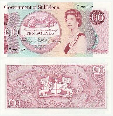 ST. HELENA £10 Banknote (1985) P.8b - UNC.