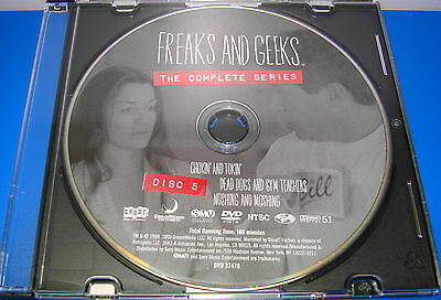 FREAKS AND GEEKS COMPLETE SERIES DISC 5 ONLY REPLACEMENT DISC