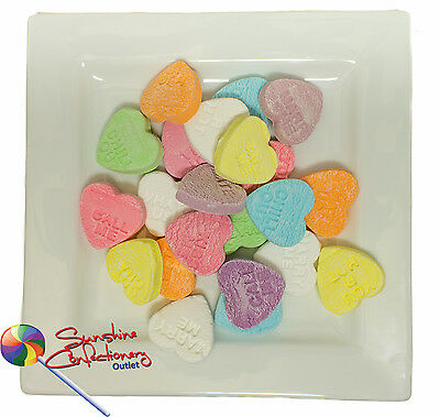 Conversation Hearts  - 2kg - Wedding Favours, Old Time Lollies