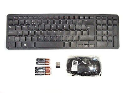 DELL KM713 Wireless Cordless Keyboard & Mouse Set Combo Kit UK Layout M9WNR NEW