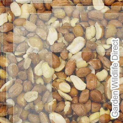 50Kg Wild Bird Peanuts Aflatoxin Tested Wild Bird Nuts / Garden Bird Feed