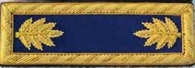 Civil War Infantry Major Shoulder Boards Dk Blue Shoulder Straps w/Free $20 Coin