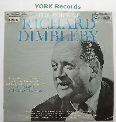 RICHARD DIMBLEBY - The Voice Of ... - Excellent Condition LP Record MFP 1087