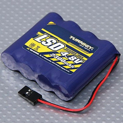 Turnigy Low Self Discharge RC Receiver Battery Flat Pack 4.8V 2300mAh NiMh