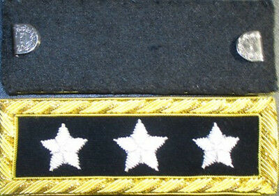 Civil War Lieutenant General Shoulder Boards - Shoulder Straps