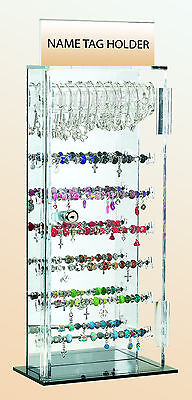 Small Acrylic Box Stand Display For Beads & Bead Jewelry