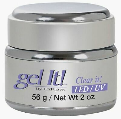 EzFlow Gel It! Cover It! LED/UV Clear It! - 2 oz (42209)