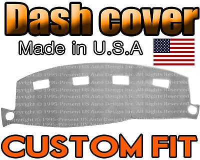 Fits 2002 2005 Dodge Ram 1500 2500 3500 Dash Cover Mat Dashboard Light Grey