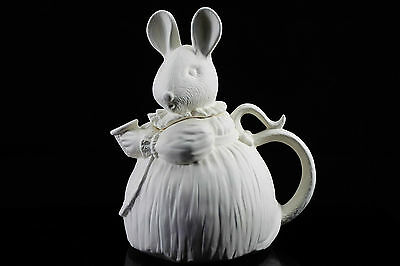Ready to paint ceramic bisque - Millie Mouse Teapot by Gare 22 cm tall Ornament