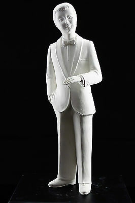Ready to paint ceramic bisque - Standing Groom 32 cm tall Handcrafted Ornament