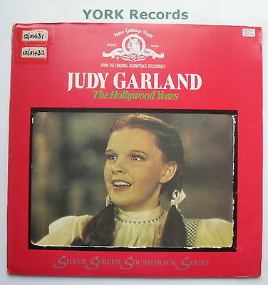 JUDY GARLAND - The Hollywood Years - Excellent Con Double LP Record MGM 2683 005