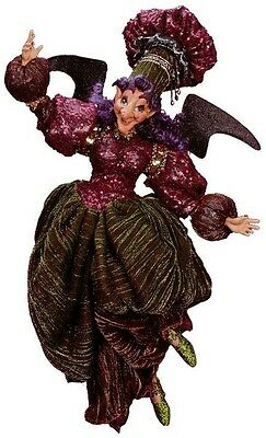 "Mark Roberts Fairy  Kitchen Witch 21.5 ""  Large Purple"