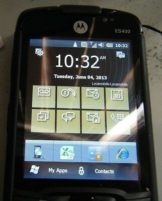 Motorola ES405B Enterprise SmartPhone Microsoft Windows Mobile 6.5.3 Professiona