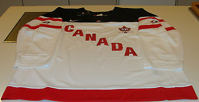Team Canada 2015 World Juniors M Hockey Jersey IIHF 100th Anniversary White