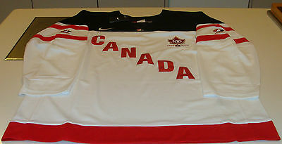 Team Canada 2015 World Juniors XL Hockey Jersey IIHF 100th Anniversary White