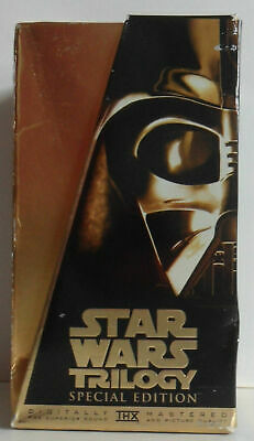 Star Wars Trilogy Box Set, THX Mastered Special Edition, VHS Tapes, Never Played