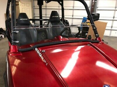 **SALE** POLARIS RZR, RZR4, 800 570 900 (doesnt fit 2015+ 900) HALF WINDSHIELD
