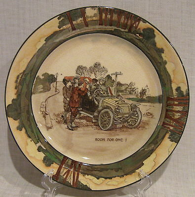 "Royal Doulton Automobile Series "" Room For One ""  10 1/2"" Plate"