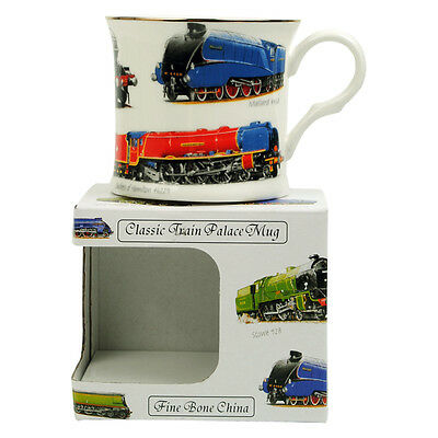 Trains Palace Cup Flying Scotsman Fine Bone China Mug Gift For Dad *New*
