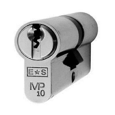 Keyed Alike 10 Pin Security Euro SCP Double Cylinder with 3 Keys Various Sizes