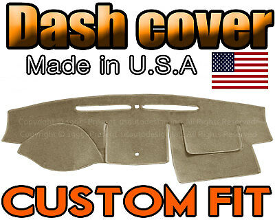 fits 2007-2012  FORD  FUSION  DASH COVER MAT DASHBOARD  PAD /  BEIGE