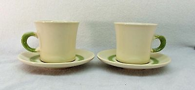FRANCISCAN china FLORAL USA pattern CUP & SAUCER Set of 2