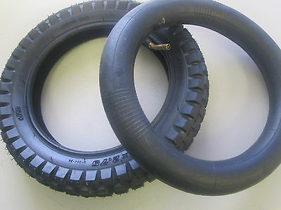 Razor Electric Dirt Bike Tire 12.5 x 2.75 w/ L Shape Valve Inner Tube