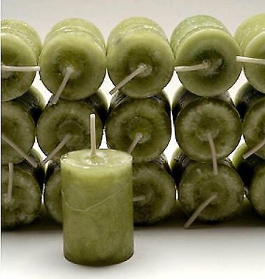 3 Coventry Creations Blessed Green MONEY DRAW VOTIVE CANDLEs Wicca Witch Spells