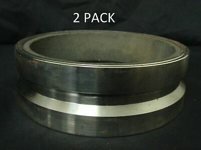 "2 x 5"" x 4.5mm Hardened Victaulic Ends with Carbon Insert for Concrete Pumps"