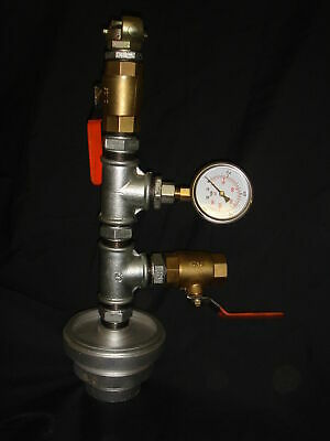 "Multi Blow Out Head Gauge 2""/3""/4"" with 25mm fitting & Pressure Gauge"