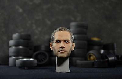 "Custom 1/6 ""The Fast and the Furious"" Paul Walker Head Sculpt For figure Body"
