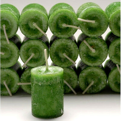 3 Coventry Creations Green WITCHES PURSE VOTIVE CANDLEs Wicca Pagan Witch