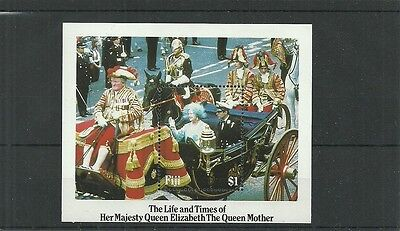 Fiji Sgms705  Life & Times Of Queen Elizabeth The Queen Mother Minisheet  Mnh