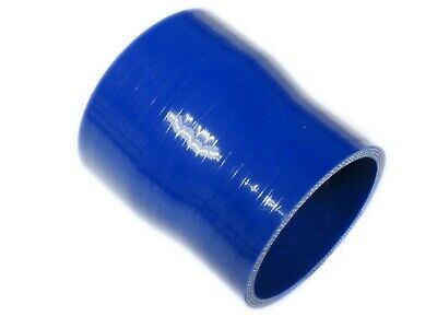 "BLUE Silicone Hose 63mm to 57mm Straight Reducer (Silicon) 2.5"" - 2.25"" (63-57)"