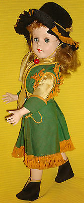 """RARE! ca.1950's 17"""" SWEET SUE ANNIE OAKLEY DOLL with ORIG OUTFIT - BEST OF BEST!"""