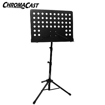 Music Conductor Sheet Metal Tripod Stand Holder Folding Stage Professional Grade