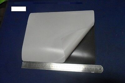 1 x A4  size Flexible Rubber Self Adhesive Magnet Sheet 300 MM x 214 MM X .4 MM
