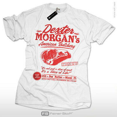 Dexter T-Shirt  S-3XL morgan american bay harbor butchery dvd blu-ray fan fun