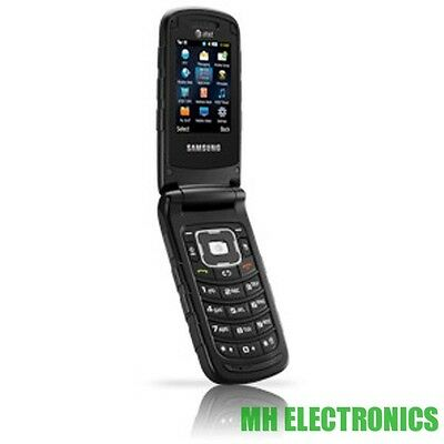 Samsung Rugby II SGH-A847 Black AT&T Cellular Phone GSM 2 FLIP RUGGED USED