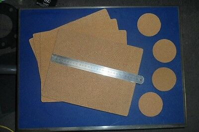 Placemats And Coasters Set  Natural Cork  Free Post